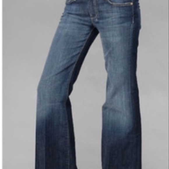 7 For All Mankind Denim - NWT 7 for all mankind size 29 flare